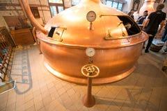 Barra da cervejaria de Heineken Imagem de Stock Royalty Free
