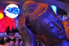 Barra da estátua da Buda Foto de Stock Royalty Free