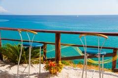 Barra da opinião do mar Imagens de Stock Royalty Free