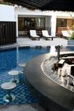 Barra da piscina Imagens de Stock