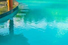 Barra da piscina na ilha tropical de Maldivas Imagem de Stock Royalty Free