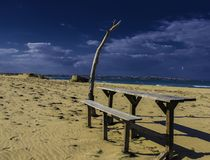 Barra da praia Imagens de Stock Royalty Free