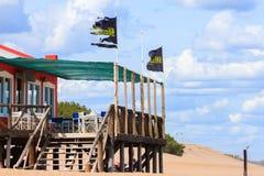 Barra da praia Fotos de Stock