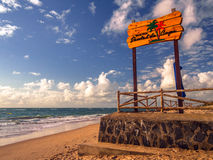 Barra da praia Fotografia de Stock