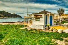 Barra da praia de Marco na praia do Praia fotos de stock