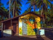 Barra da ressaca da praia Imagens de Stock Royalty Free