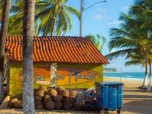 Barra da ressaca da praia Imagem de Stock