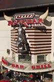 Barra da rocha de PBR & grade em Las Vegas, nanovolt o 20 de maio de 2013 Imagens de Stock Royalty Free