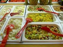 Barra da salada fotos de stock royalty free