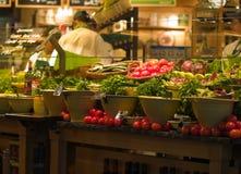 Barra da salada Fotografia de Stock Royalty Free