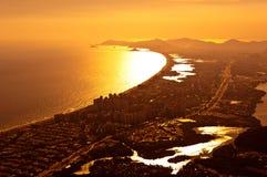 Barra da Tijuca Aerial View Stock Photos