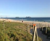Barra da Tijuca beach Stock Image