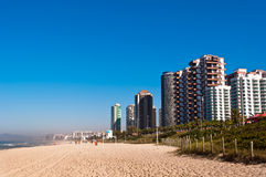 Barra da Tijuca Beach em Rio de janeiro Imagens de Stock Royalty Free