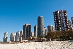 Barra da Tijuca Beach in Rio de Janeiro Fotografia Stock