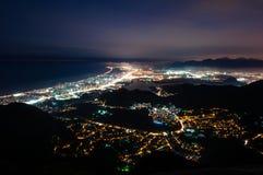 Barra da Tijuca at Night Royalty Free Stock Photo