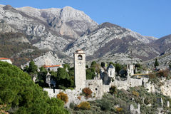 barra da Velho-cidade - Montenegro Fotografia de Stock Royalty Free