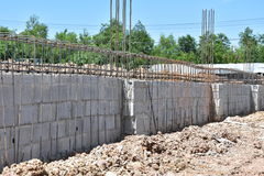 Barra de aço do reforço Imagem de Stock Royalty Free