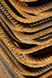 Barra de acero Foto de archivo libre de regalías