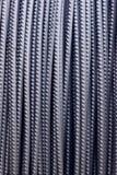 Barra de acero de refuerzo Foto de archivo libre de regalías