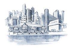 Barra de café libre illustration