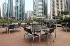 Barra de café ao ar livre, shanghai Fotografia de Stock