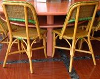 Barra de café interior Foto de archivo