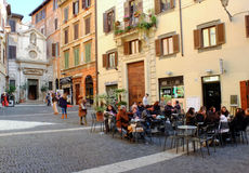Barra de café italiana Imagem de Stock Royalty Free