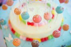 Barra de caramelo Foto de archivo libre de regalías