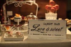 Barra de caramelo Imagenes de archivo