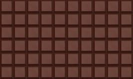 Barra de chocolate Fotografía de archivo libre de regalías