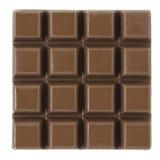 Barra de chocolate fotografía de archivo
