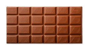 Barra de chocolate Imagem de Stock Royalty Free
