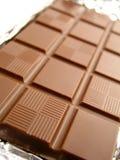 Barra de chocolate Fotografia de Stock