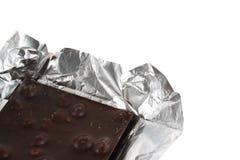 Barra de chocolate Fotografia de Stock Royalty Free