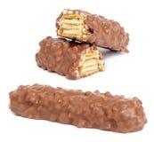 Barra de chocolate Imágenes de archivo libres de regalías