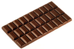 Barra de chocolate imagens de stock