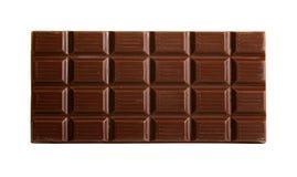 Barra de chocolate com trajeto imagens de stock royalty free