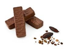 Barra de chocolate da dieta Imagem de Stock