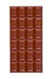 Barra de chocolate do furo Imagem de Stock Royalty Free