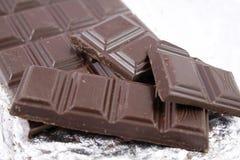 Barra de chocolate dulce Fotografía de archivo libre de regalías