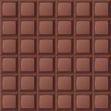 Barra de chocolate inconsútil Foto de archivo libre de regalías