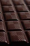 Barra de chocolate oscura Imagen de archivo
