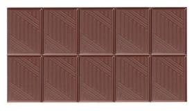 Barra de chocolate oscura Foto de archivo