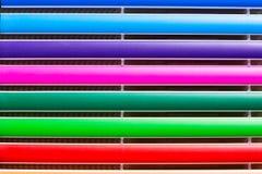 Barra de cores abstrata Imagem de Stock