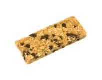 Barra de granola aérea da vista imagem de stock royalty free