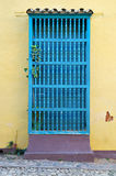 Barra de janela colonial Imagens de Stock