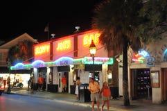Barra de Joe descuidado en Key West la Florida Foto de archivo libre de regalías