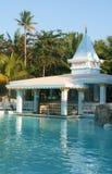 Barra de la piscina Foto de archivo libre de regalías