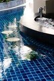 Barra de la piscina Fotografía de archivo