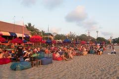 Barra de la playa de Bali Foto de archivo
